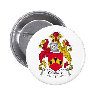 Escudo de la familia de Cobham Pin