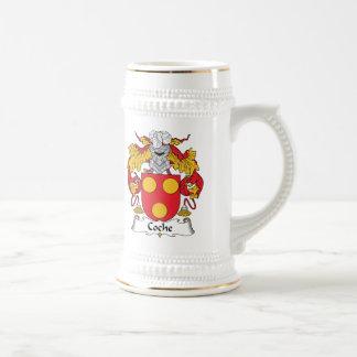 Escudo de la familia de Coche Tazas De Café