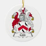Escudo de la familia de Codd Adorno De Navidad