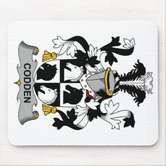 Escudo de la familia de Codden Alfombrillas De Ratón