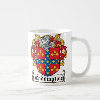 Escudo de la familia de Coddington Taza De Café