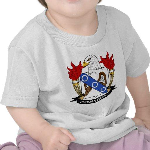 Escudo de la familia de Codman Camiseta