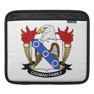 Escudo de la familia de Codman Manga De iPad