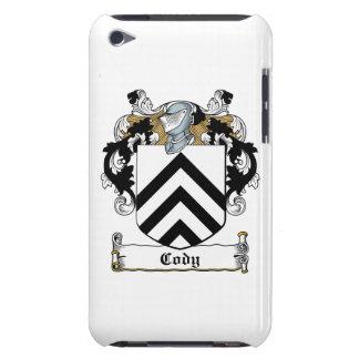 Escudo de la familia de Cody iPod Touch Case-Mate Funda