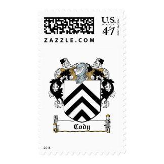 Escudo de la familia de Cody Sello Postal