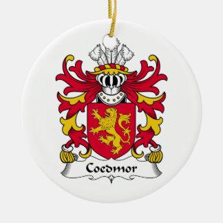 Escudo de la familia de Coedmor Ornato