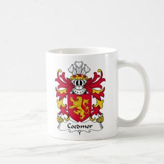 Escudo de la familia de Coedmor Taza De Café