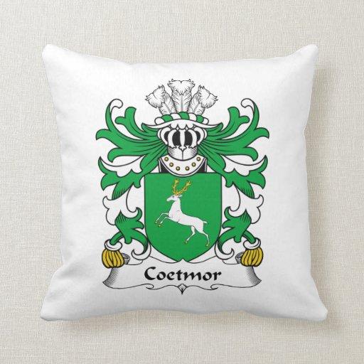 Escudo de la familia de Coetmor Almohada