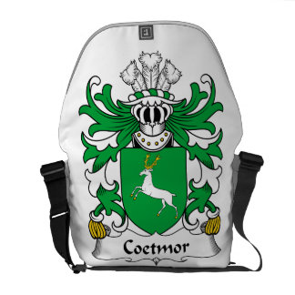 Escudo de la familia de Coetmor Bolsas Messenger