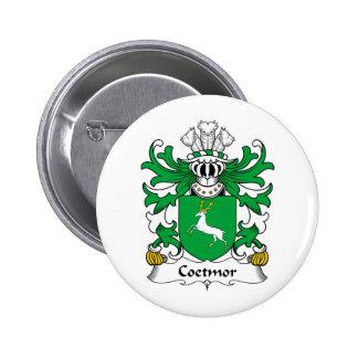 Escudo de la familia de Coetmor Pin