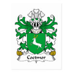 Escudo de la familia de Coetmor Postal