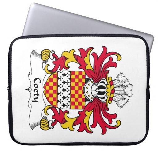 Escudo de la familia de Coety Funda Ordendadores