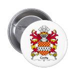 Escudo de la familia de Coety Pins
