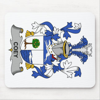 Escudo de la familia de Coey Tapete De Ratones