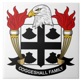 Escudo de la familia de Coggeshall Azulejos Cerámicos