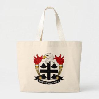 Escudo de la familia de Coggeshall Bolsas De Mano