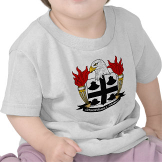 Escudo de la familia de Coggeshall Camisetas