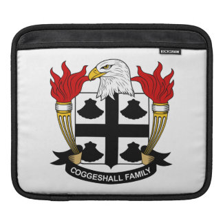 Escudo de la familia de Coggeshall Mangas De iPad