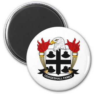 Escudo de la familia de Coggeshall Iman Para Frigorífico