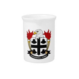 Escudo de la familia de Coggeshall Jarrones