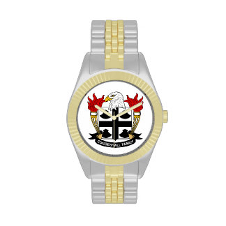 Escudo de la familia de Coggeshall Relojes De Pulsera