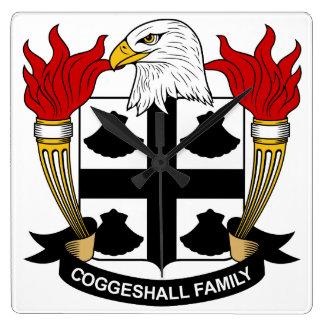 Escudo de la familia de Coggeshall Reloj