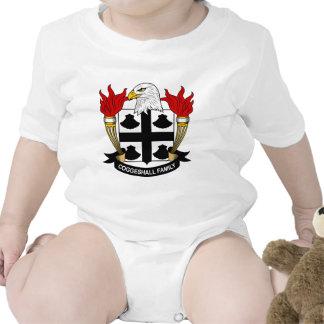 Escudo de la familia de Coggeshall Trajes De Bebé