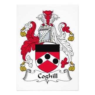Escudo de la familia de Coghill Anuncio