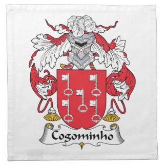 Escudo de la familia de Cogominho Servilletas