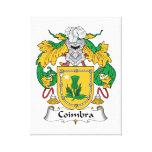 Escudo de la familia de Coímbra Lienzo Envuelto Para Galerias