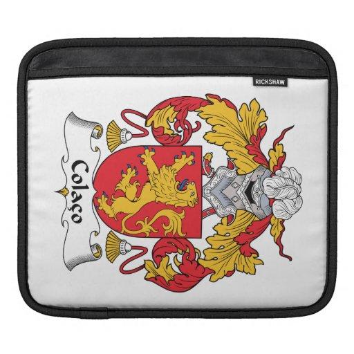 Escudo de la familia de Colaco Funda Para iPads