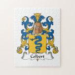 Escudo de la familia de Colbert Rompecabezas Con Fotos