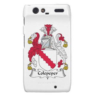 Escudo de la familia de Colepeper Droid RAZR Carcasas