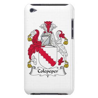 Escudo de la familia de Colepeper iPod Touch Case-Mate Coberturas