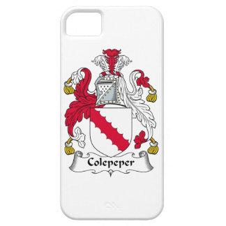 Escudo de la familia de Colepeper iPhone 5 Protector