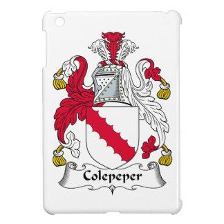 Escudo de la familia de Colepeper iPad Mini Cárcasa