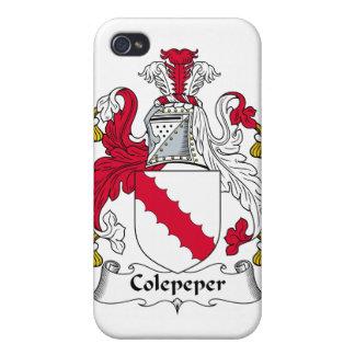 Escudo de la familia de Colepeper iPhone 4/4S Funda