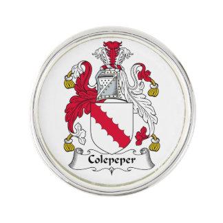 Escudo de la familia de Colepeper Insignia