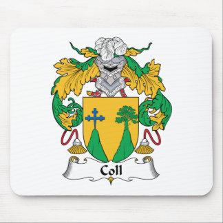 Escudo de la familia de Coll Alfombrilla De Ratón