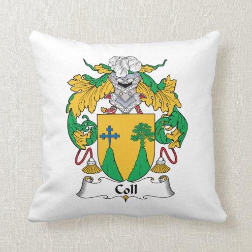 Escudo de la familia de Coll Cojines