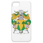Escudo de la familia de Coll iPhone 5 Case-Mate Cárcasa