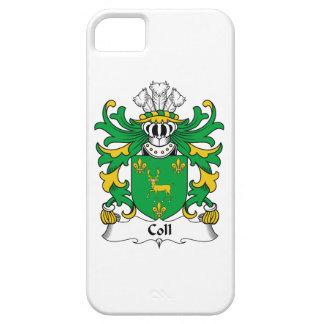 Escudo de la familia de Coll iPhone 5 Case-Mate Fundas