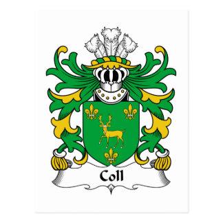 Escudo de la familia de Coll Postal