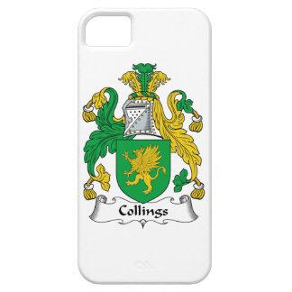 Escudo de la familia de Collings iPhone 5 Case-Mate Protector