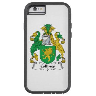 Escudo de la familia de Collings Funda De iPhone 6 Tough Xtreme