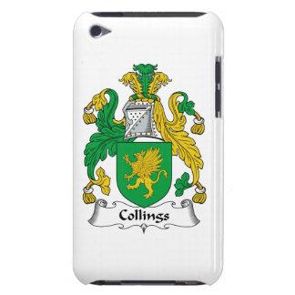 Escudo de la familia de Collings iPod Touch Cárcasa