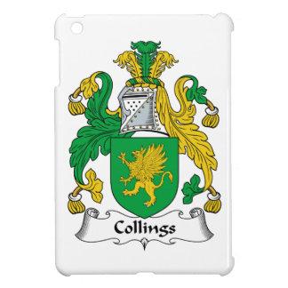 Escudo de la familia de Collings iPad Mini Carcasa