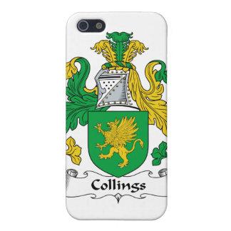 Escudo de la familia de Collings iPhone 5 Fundas