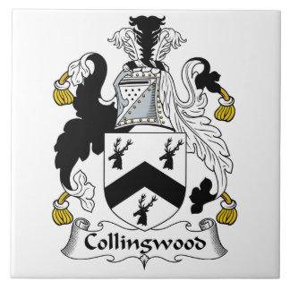 Escudo de la familia de Collingwood Azulejo