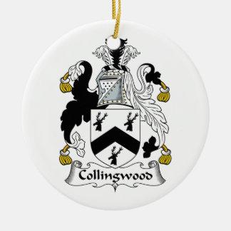 Escudo de la familia de Collingwood Adornos De Navidad